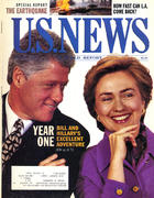 U.S. News & World Report January 31, 1994 Vintage Magazine