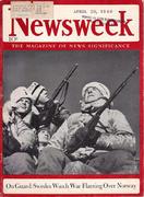 Newsweek Magazine April 29, 1940 Magazine
