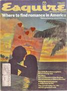 Esquire April 1, 1974 Vintage Magazine