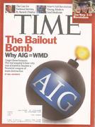 Time Magazine March 30, 2009 Magazine