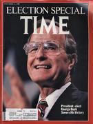 Time Magazine November 21, 1988 Magazine