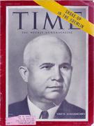 Time Magazine February 21, 1955 Magazine