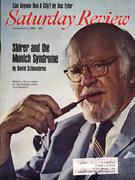 The Saturday Review November 8, 1969 Magazine