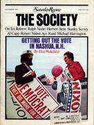 The Saturday Review November 1, 1972 Magazine