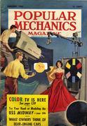 Popular Mechanics January 1, 1954 Magazine