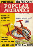 Popular Mechanics August 1, 1961 Magazine