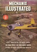 Mechanix Illustrated Magazine August 1945 Magazine