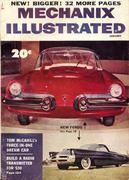 Mechanix Illustrated Magazine January 1954 Magazine