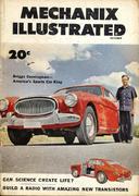 Mechanix Illustrated Magazine October 1953 Magazine