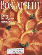 Bon Appetit Magazine March 1992 Magazine