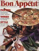 Bon Appetit Magazine March 1987 Magazine