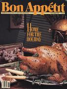 Bon Appetit Magazine November 1988 Magazine