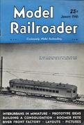Model Railroader Magazine January 1946 Magazine