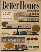 Better Homes And Gardens Magazine September 1958 Magazine