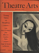 Theatre Arts Magazine February 1946 Magazine