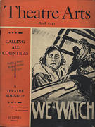 Theatre Arts Magazine April 1942 Magazine