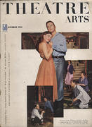 Theatre Arts Magazine October 1953 Magazine