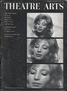Theatre Arts Magazine July 1962 Magazine