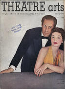 Theatre Arts Magazine March 1951 Magazine