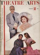 Theatre Arts Magazine February 1954 Magazine