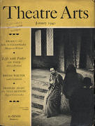 Theatre Arts Magazine January 1942 Magazine