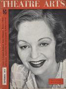 Theatre Arts Magazine September 1954 Vintage Magazine