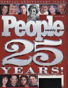 People 25th Anniversary Issue March 1999 Magazine