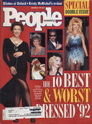 People Magazine October 26, 1992 Magazine