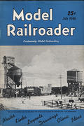 Model Railroader Magazine July 1946 Magazine