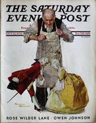 The Saturday Evening Post October 22, 1932 Magazine