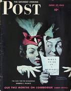 The Saturday Evening Post June 27, 1942 Magazine
