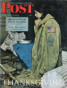 The Saturday Evening Post November 27, 1943 Magazine