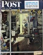 The Saturday Evening Post April 29, 1950 Magazine