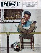 The Saturday Evening Post January 9, 1954 Magazine