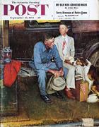 The Saturday Evening Post September 25, 1954 Magazine
