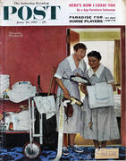 The Saturday Evening Post June 29, 1957 Magazine