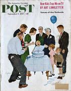 The Saturday Evening Post November 2, 1957 Magazine