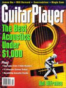 Guitar Player Magazine April 1998 Magazine