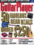 Guitar Player Magazine December 2001 Magazine