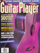 Guitar Player Magazine March 1993 Magazine