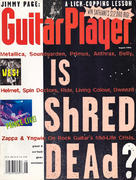 Guitar Player Magazine August 1993 Magazine