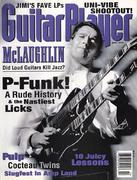 Guitar Player Magazine April 1996 Magazine