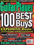 Guitar Player Magazine December 1996 Vintage Magazine