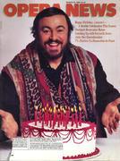 Opera News Magazine March 29, 1986 Magazine