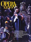 Opera News Magazine January 19, 1991 Magazine