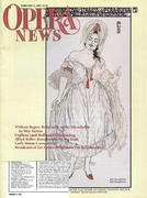 Opera News Magazine February 13, 1993 Magazine