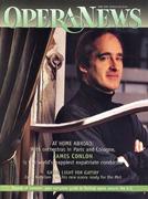 Opera News Magazine June 1, 1999 Magazine