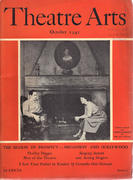 Theatre Arts Magazine October 1941 Magazine