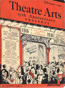 Theatre Arts Magazine February 1941 Magazine