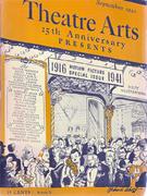 Theatre Arts Magazine September 1941 Magazine